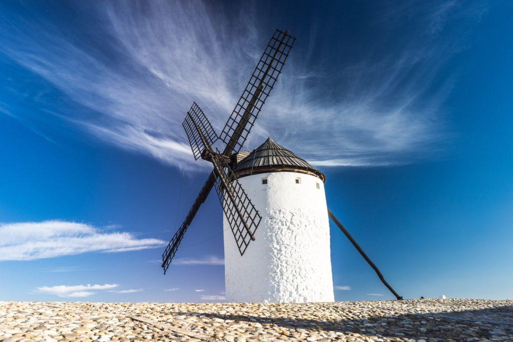 Windmühlen statt Mauern